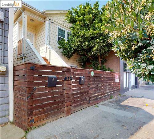 Photo of 1719 Peralta St, OAKLAND, CA 94607 (MLS # 40926035)