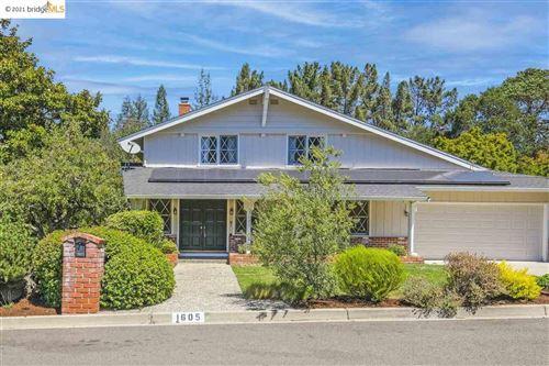 Photo of 1605 Del Monte Way, MORAGA, CA 94556 (MLS # 40960043)