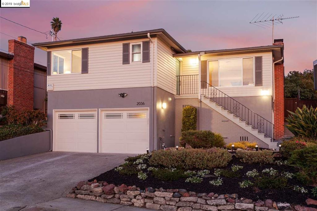 Photo for 2036 Mira Vista Dr, EL CERRITO, CA 94530 (MLS # 40886087)