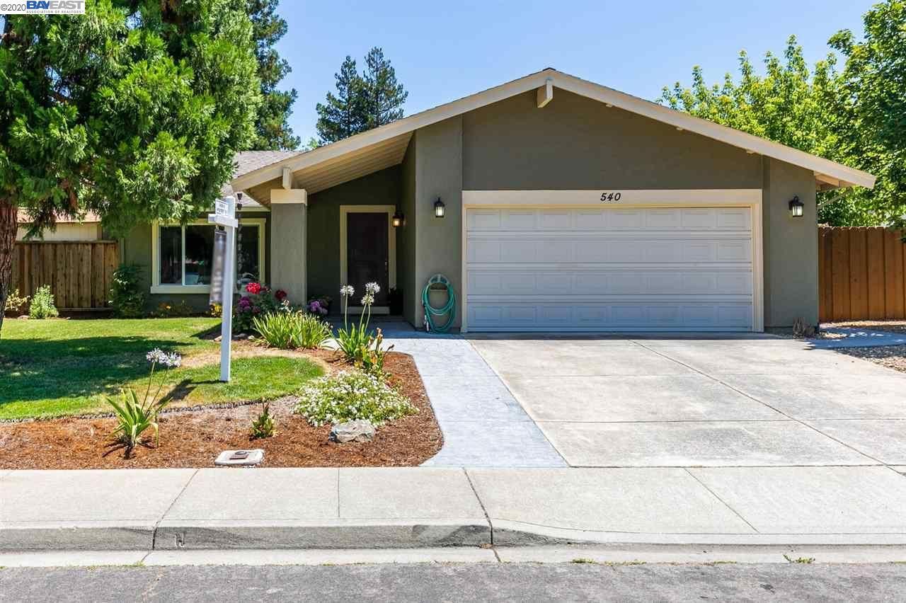 540 Shelley Street, Livermore, CA 94550-2368 - #: 40911251