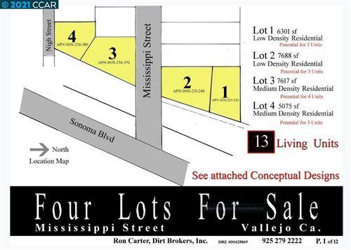 Tiny photo for Mississippi St. Lot #4, VALLEJO, CA 94590 (MLS # 40935327)