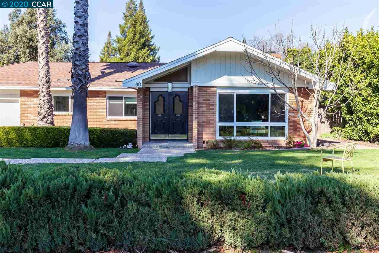 Photo for 80 Greenway Dr, WALNUT CREEK, CA 94596 (MLS # 40895425)