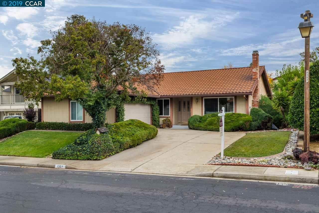 Photo for 1367 Deerfield Ct, CONCORD, CA 94521 (MLS # 40890450)