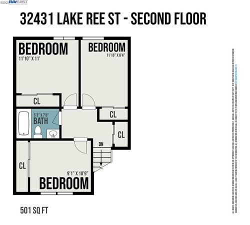 Tiny photo for 32431 Lake Ree St, FREMONT, CA 94555 (MLS # 40920653)