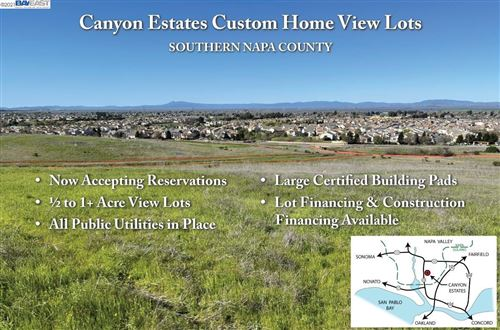 Photo of 2025 Newell Drive, Lot 10, AMERICAN CANYON, CA 94503 (MLS # 40948672)