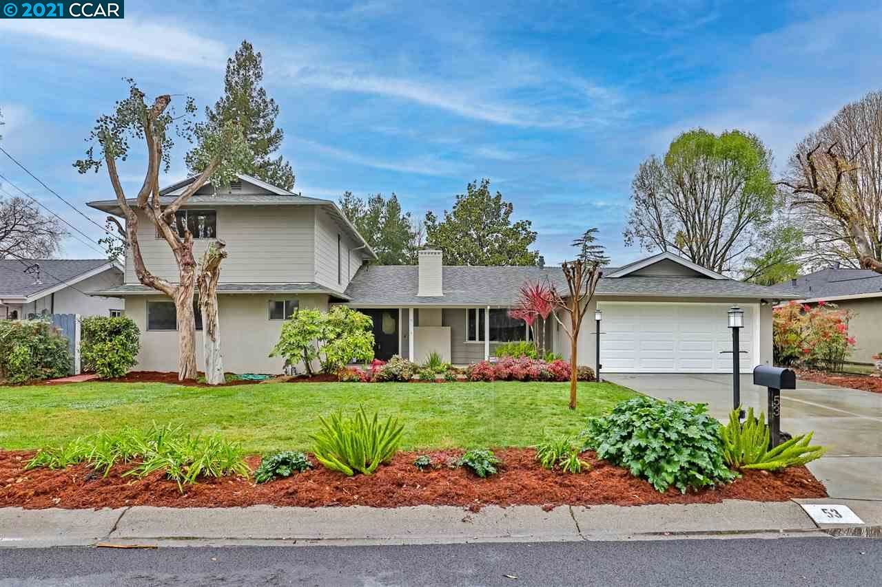 Photo for 53 Dawn Dr, PLEASANT HILL, CA 94532 (MLS # 40938692)