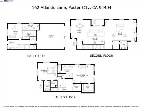 Tiny photo for 162 Atlantis Lane #4, FOSTER CITY, CA 94404 (MLS # 40938816)