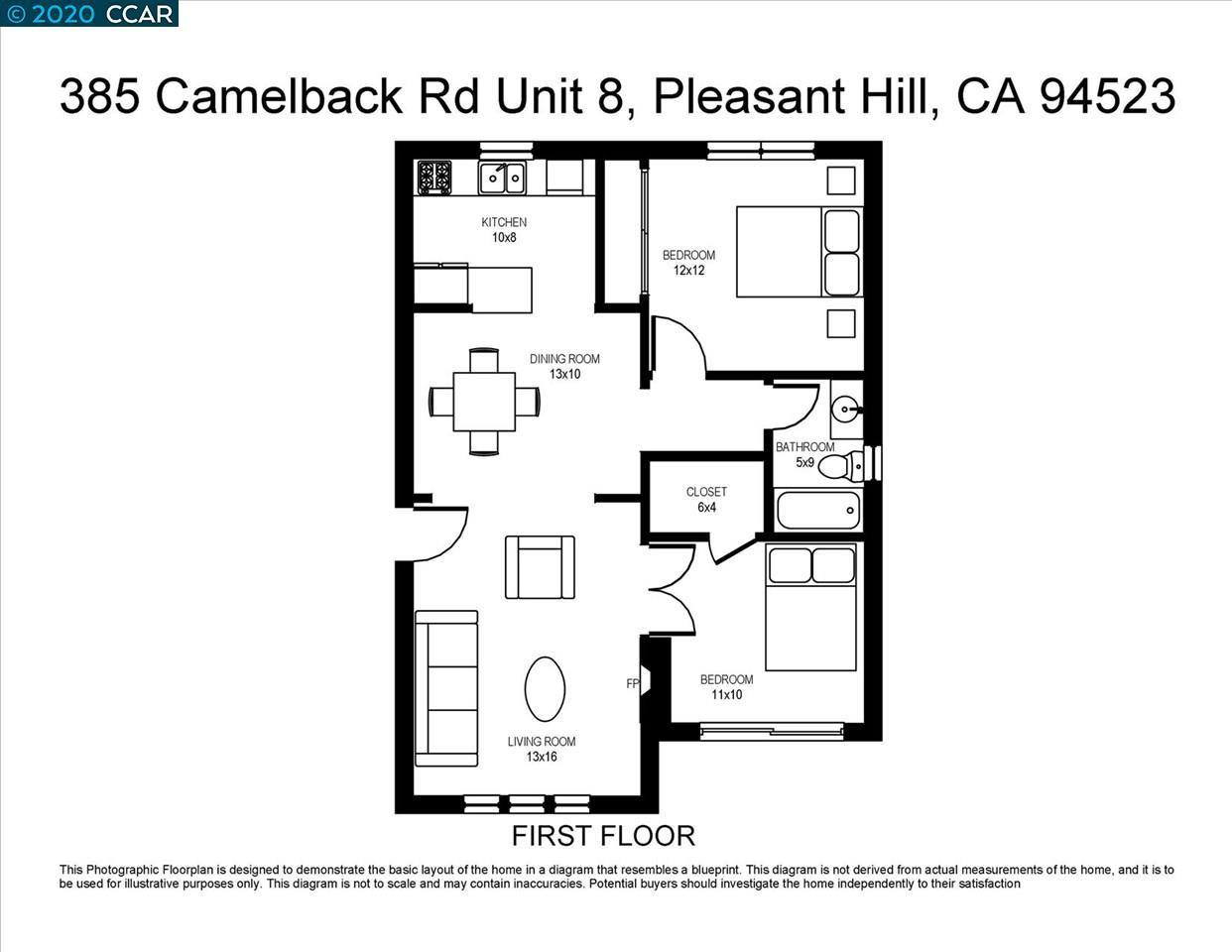 Photo of 385 Camelback Rd, PLEASANT HILL, CA 94523 (MLS # 40915824)