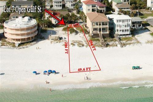 Photo of Lot 7 Open Gulf Street, Miramar Beach, FL 32550 (MLS # 856538)