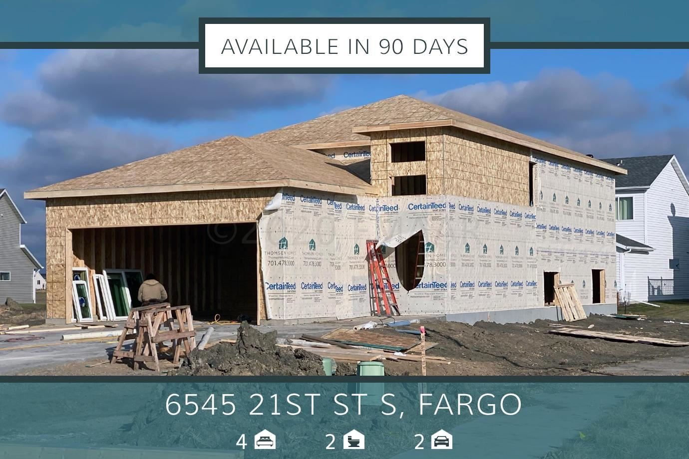 6545 21 S Street, Fargo, ND 58104 - #: 20-3099