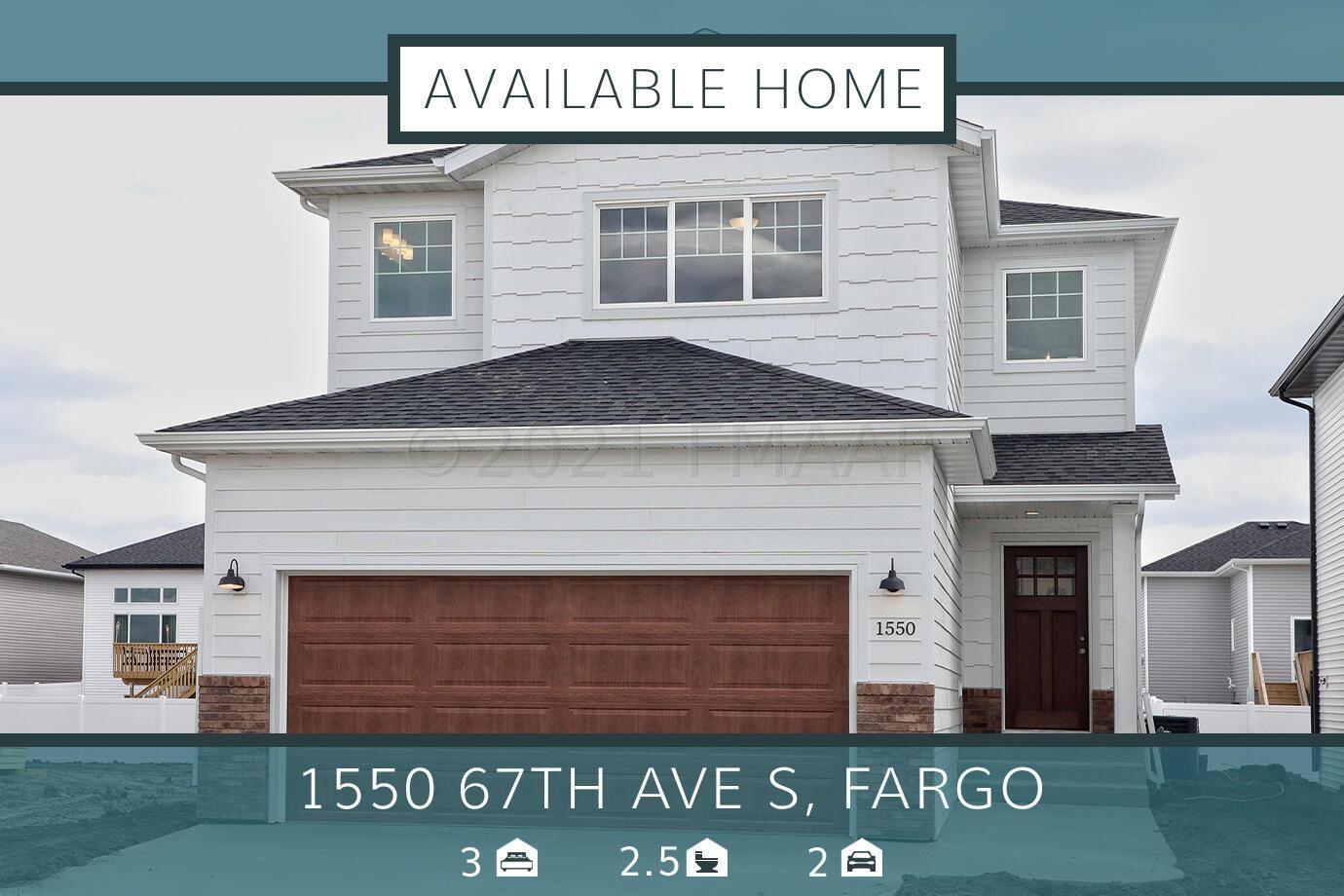 1550 67TH Avenue S, Fargo, ND 58104 - #: 21-2217