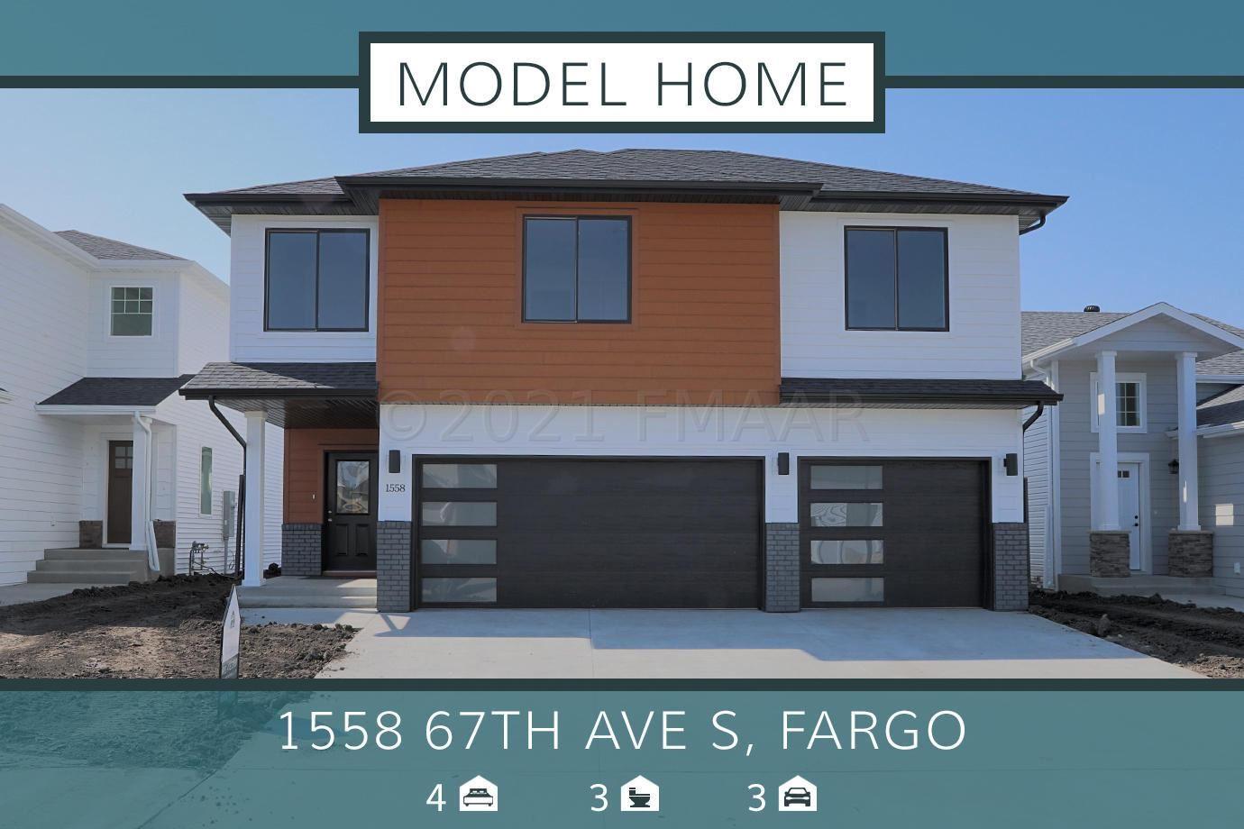 1558 67TH Avenue S, Fargo, ND 58104 - #: 21-2224