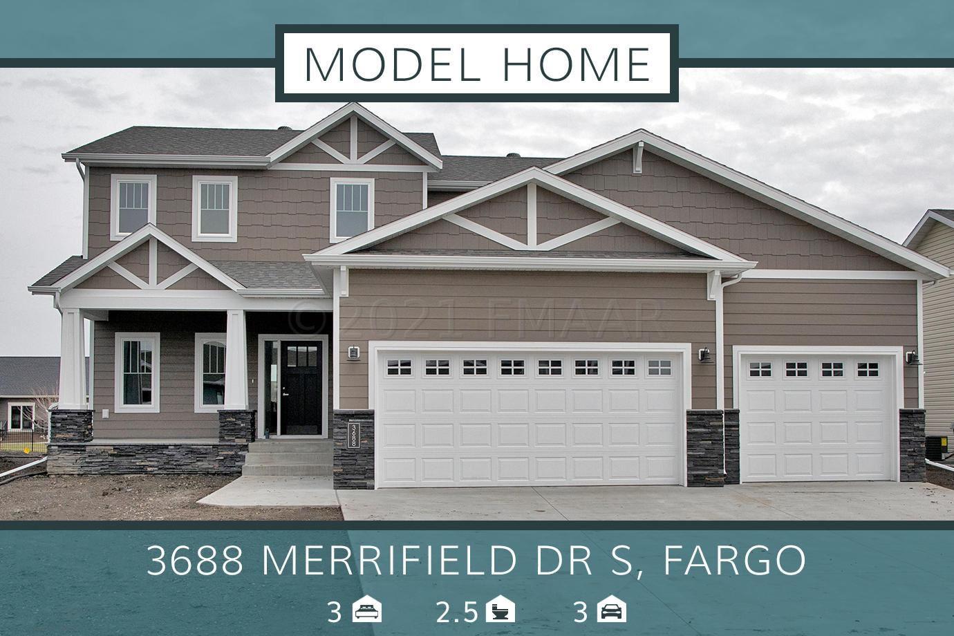 3688 MERRIFIELD Drive S, Fargo, ND 58104 - #: 21-2229