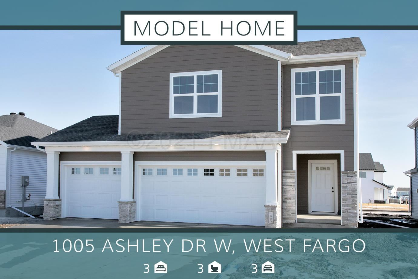 1005 ASHLEY Drive W, West Fargo, ND 58078 - #: 21-746