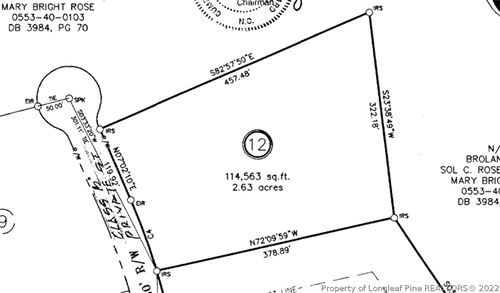 Photo of 2730 Forestwood (Lot 12) Court, Fayetteville, NC 28311 (MLS # 632420)