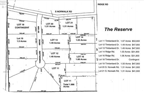 Photo of 0 Lot 16 Ridge Road, Norwalk, OH 44857 (MLS # 20213570)