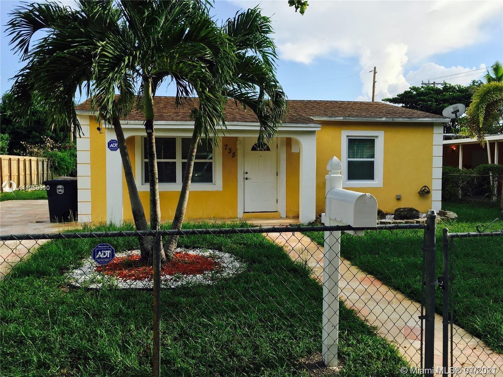 735 NW 128th St, North Miami, FL 33168 - #: A11068010