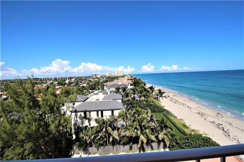 Photo of 4505 S Ocean Blvd #806, Highland Beach, FL 33487 (MLS # A11110012)