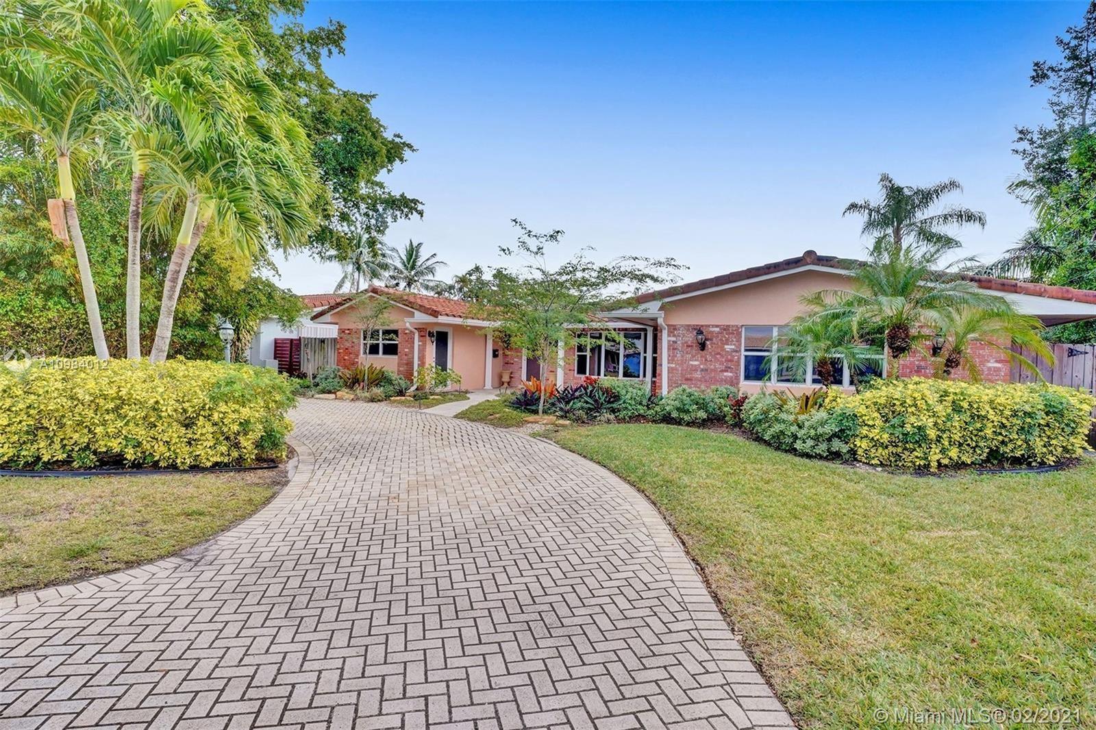 1448 NE 57th St, Fort Lauderdale, FL 33334 - #: A10984012