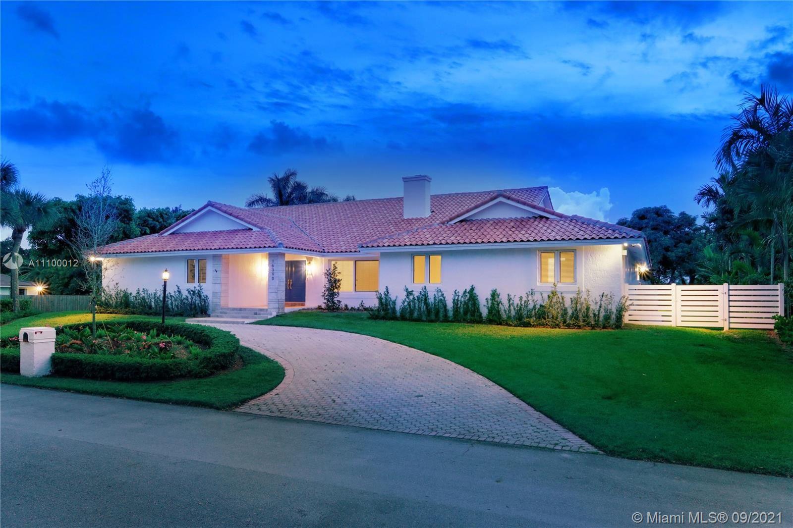 16390 SW 77 CT, Palmetto Bay, FL 33157 - #: A11100012