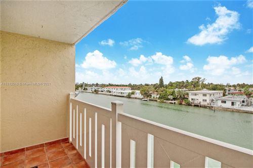Photo of 7900 Tatum Waterway Dr #408, Miami Beach, FL 33141 (MLS # A11112016)