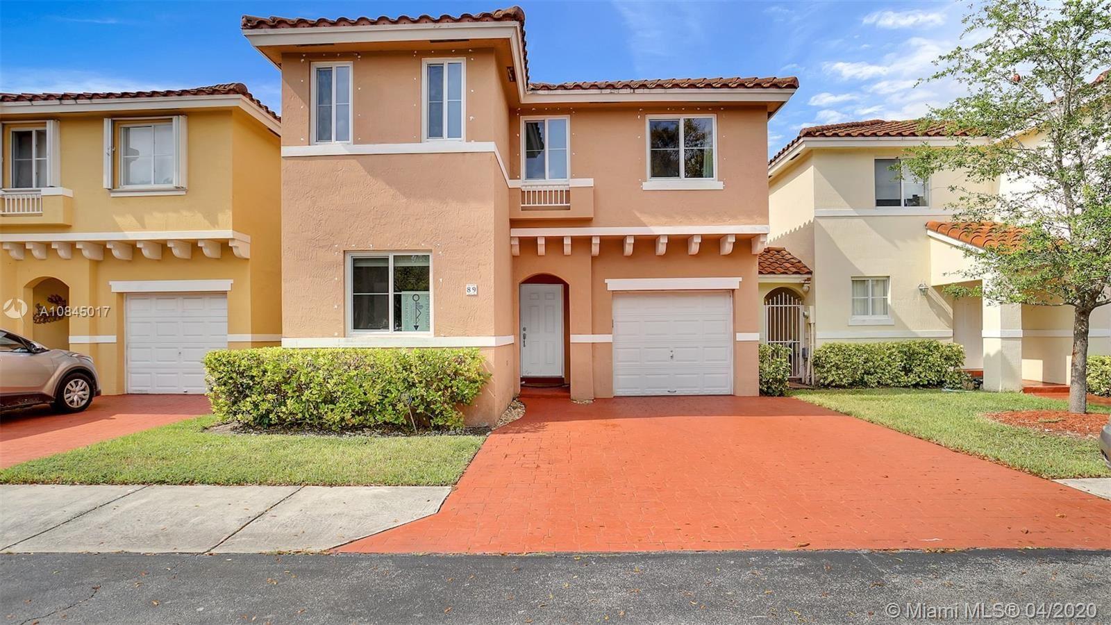 14816 SW 104th St #89, Miami, FL 33196 - #: A10845017