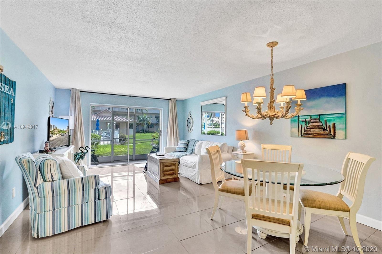 Photo of 2600 Diana Dr #122, Hallandale Beach, FL 33009 (MLS # A10946017)