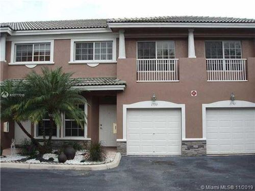Photo of 1753 NW 94th Ave #1753, Coral Springs, FL 33071 (MLS # A10777018)