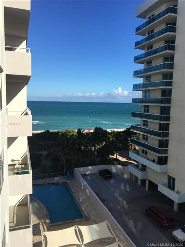 Photo of 9225 Collins Ave #708, Surfside, FL 33154 (MLS # A10961018)