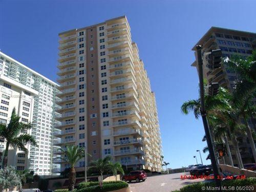 Photo of 3850 Galt Ocean Dr #1711, Fort Lauderdale, FL 33308 (MLS # A10869019)