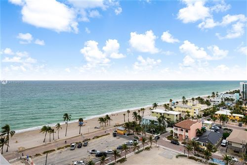 Photo of 3111 N Ocean Dr #1411, Hollywood, FL 33019 (MLS # A11043021)
