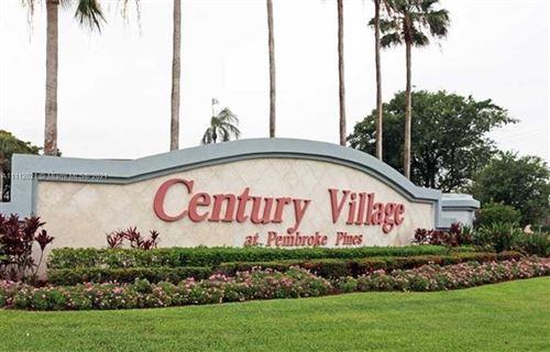 Photo of 13355 SW 16 COURT #411, Pembroke Pines, FL 33027 (MLS # A11112021)