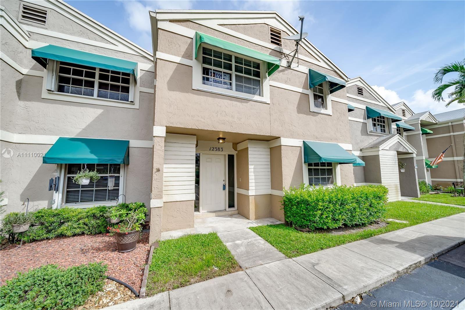 Photo of 12383 SW 52nd St #12383, Cooper City, FL 33330 (MLS # A11110021)