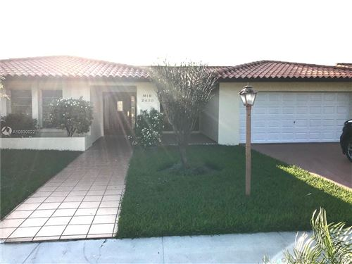 Photo of Listing MLS a10830022 in 2430 SW 126th Ave Miami FL 33175