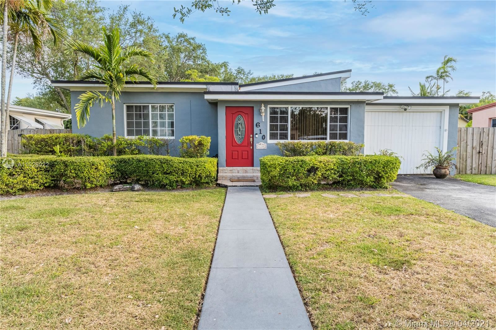 610 Raven Ave, Miami Springs, FL 33166 - #: A11026022