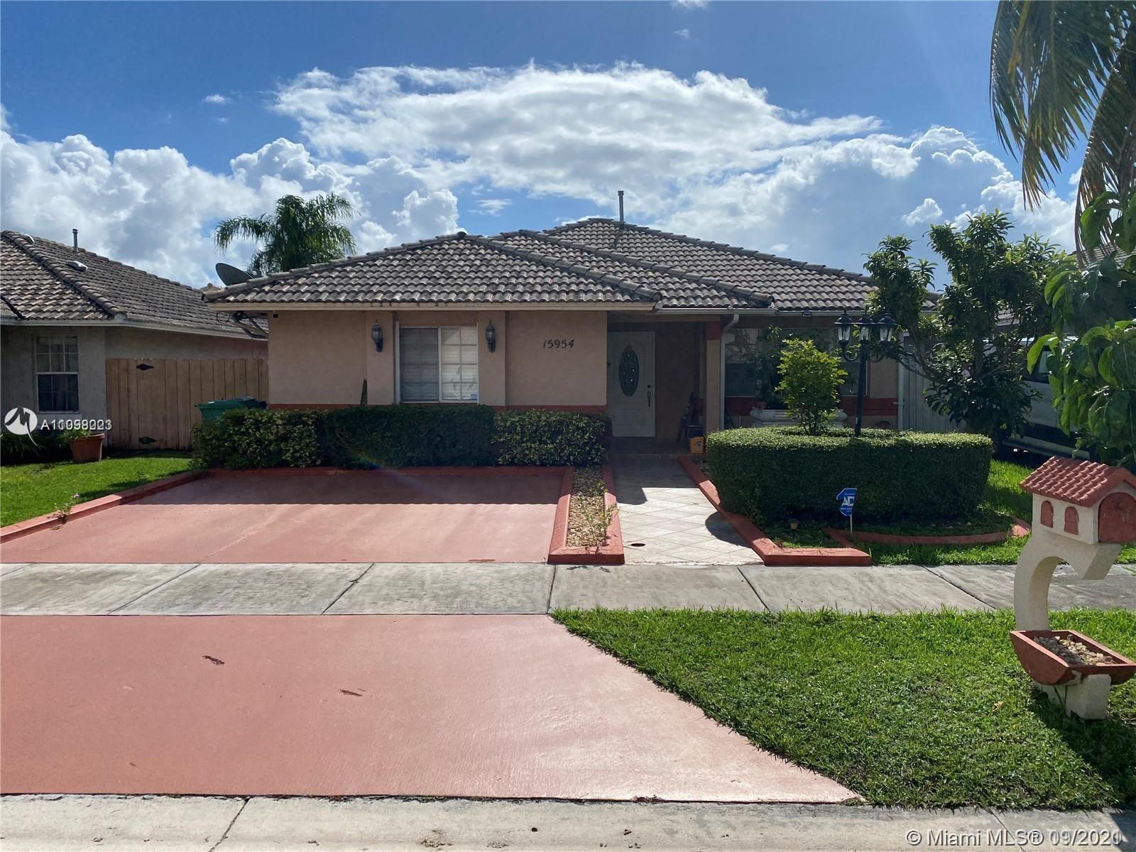15954 SW 81st Ter, Miami, FL 33193 - #: A11098023