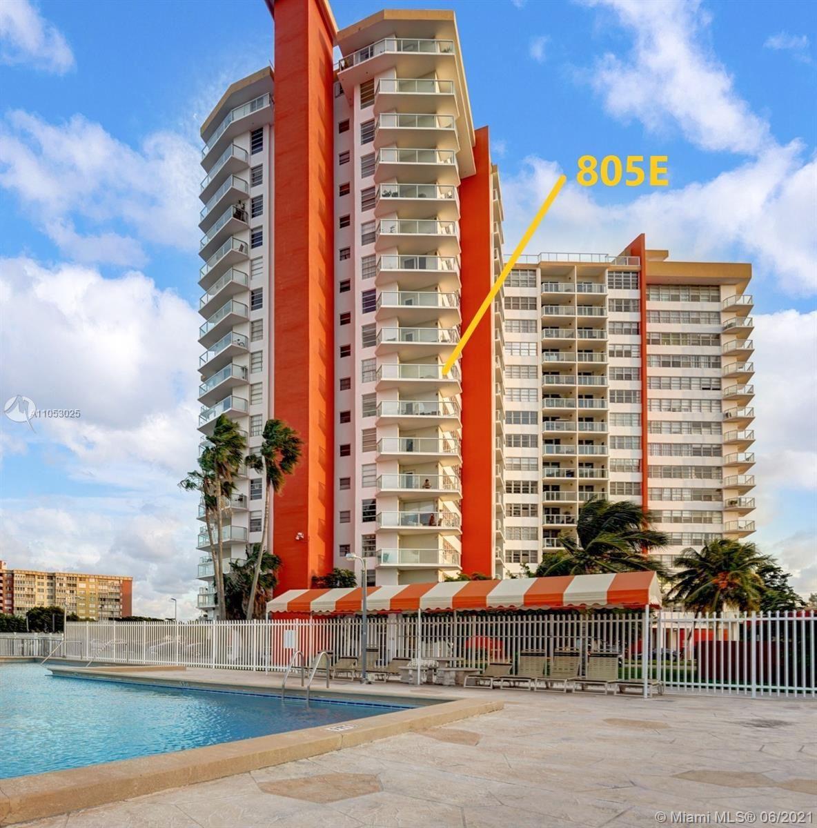 1351 NE Miami Gardens Dr #805E, Miami, FL 33179 - #: A11053025