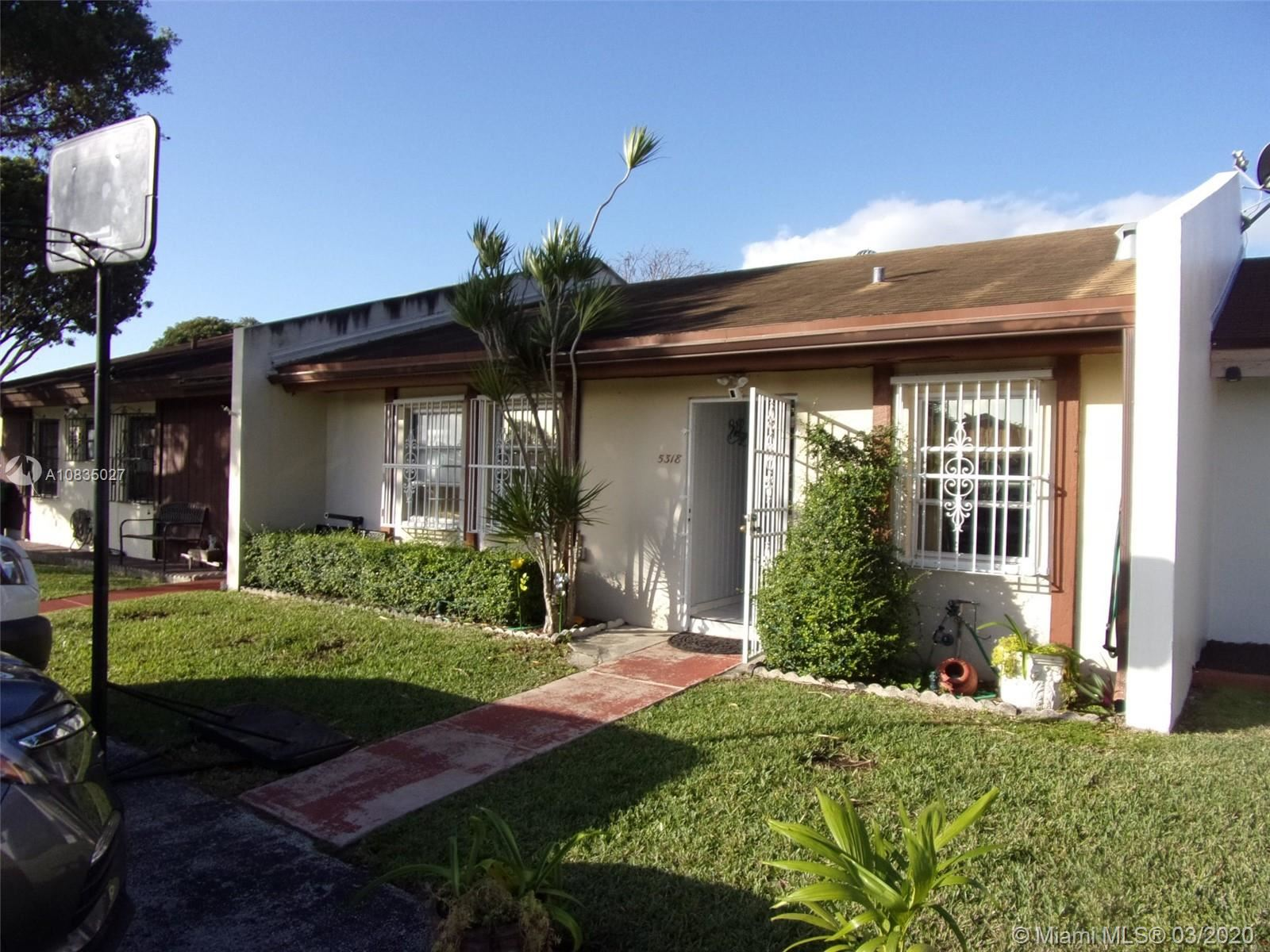 5318 SW 141st Ave #5318, Miami, FL 33175 - MLS#: A10835027