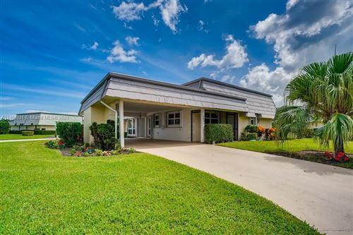 Photo of 388 Villa Drive #388, Lake Worth, FL 33462 (MLS # A11104031)