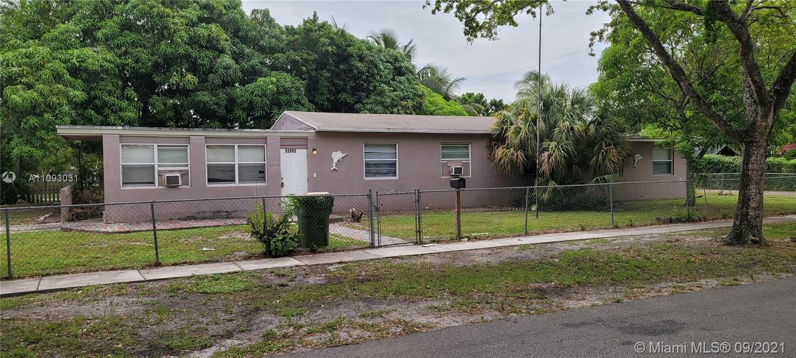 12885 NW 16th Ave, North Miami, FL 33167 - #: A11093031