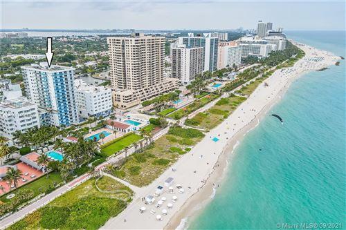 Photo of 2457 Collins Ave #1403, Miami Beach, FL 33140 (MLS # A11101032)