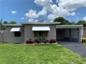 Photo of Listing MLS a10673034 in 5844 Garfield St Hollywood FL 33021