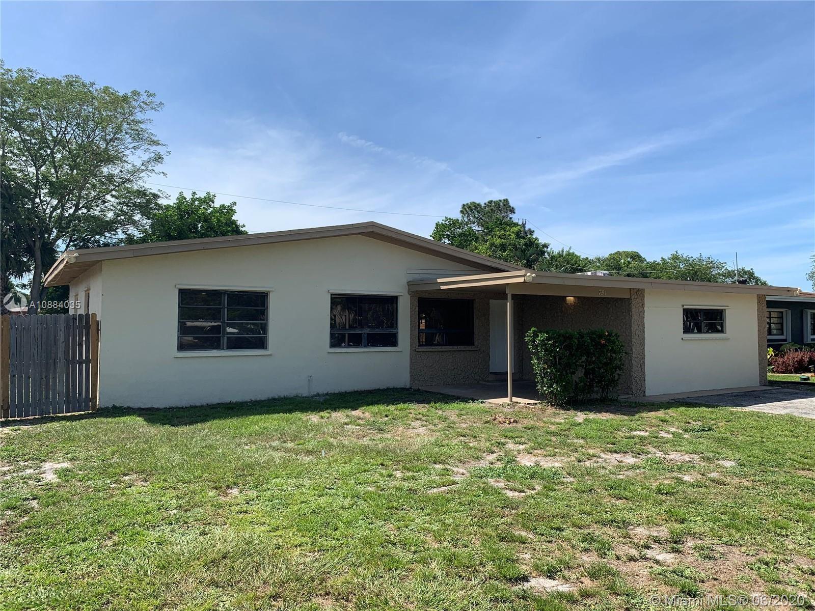 751 Carolina Ave, Fort Lauderdale, FL 33312 - #: A10884035
