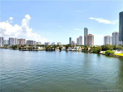 Photo of 18260 N Bay Rd #718, Sunny Isles Beach, FL 33160 (MLS # A10886036)