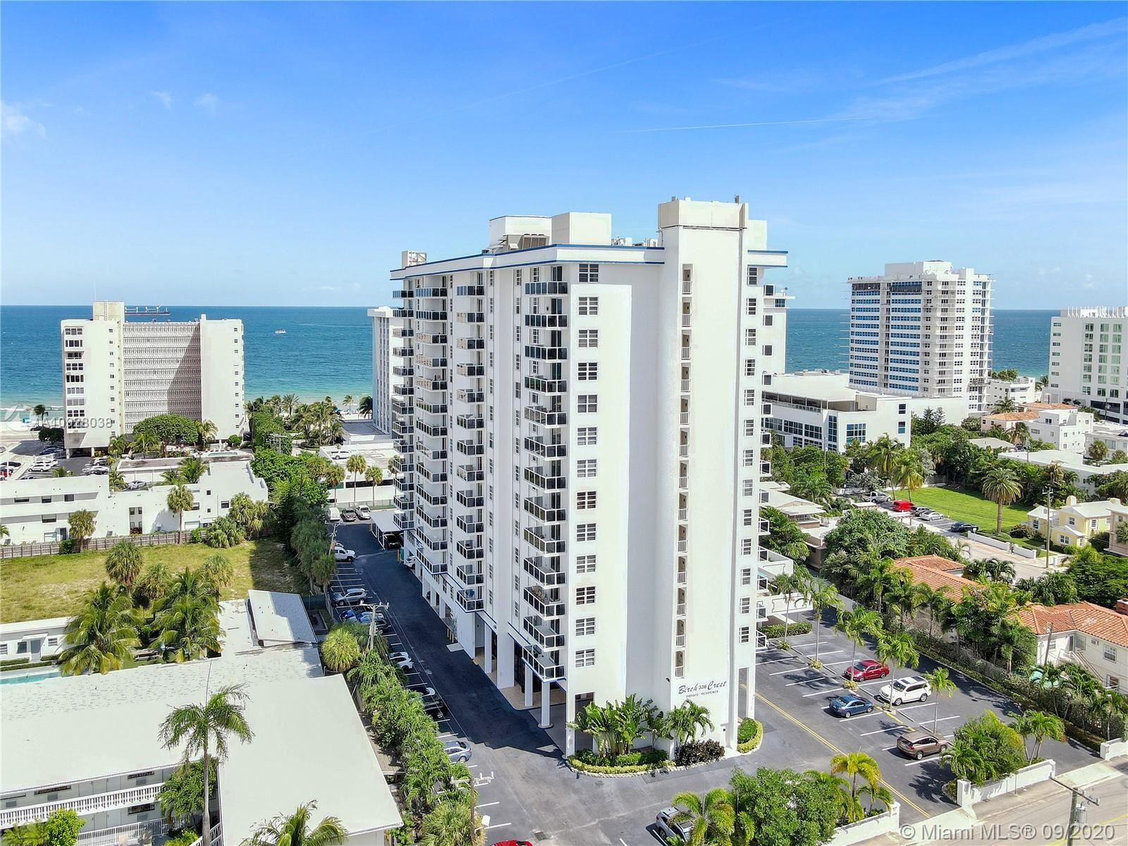 336 N Birch Rd #5C, Fort Lauderdale, FL 33304 - #: A10928038