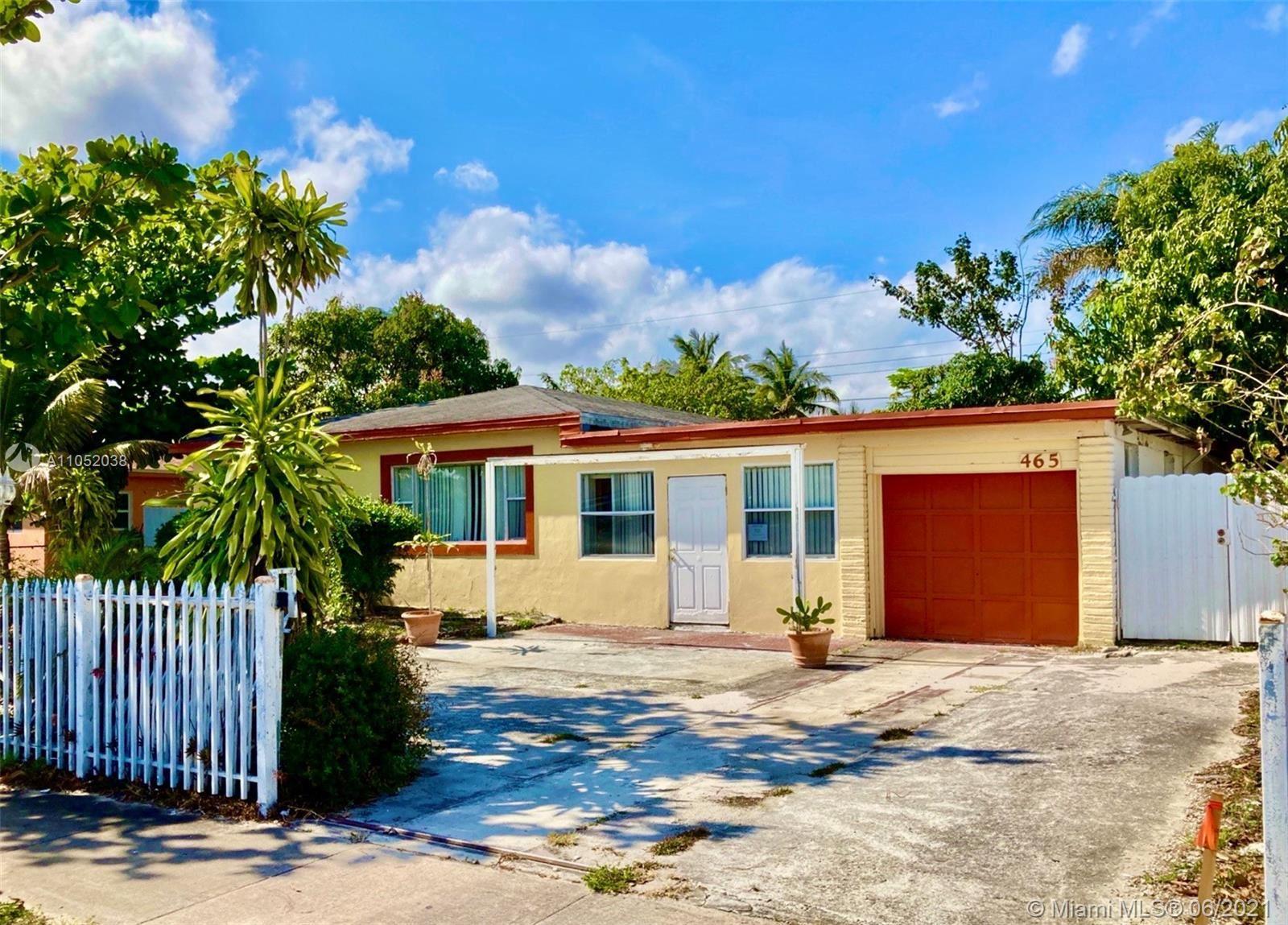 465 NE 157th Ter, Miami, FL 33162 - #: A11052038