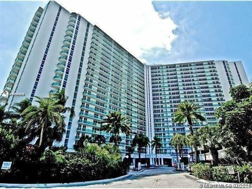 Photo of 19380 Collins Ave #121, Sunny Isles Beach, FL 33160 (MLS # A11041039)