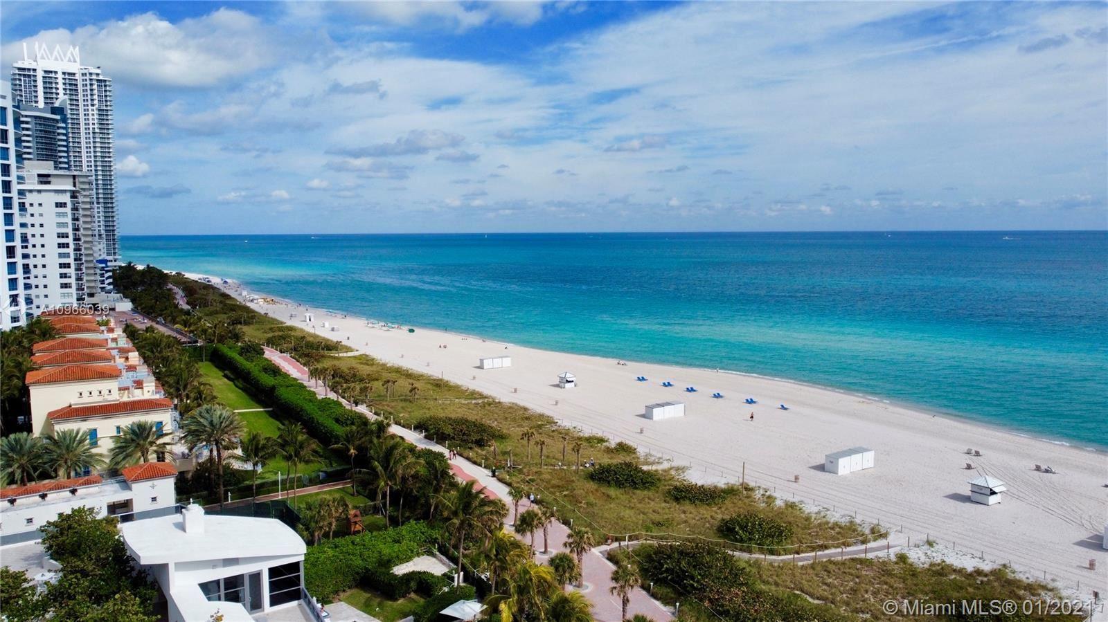 Photo of 5825 Collins Ave #14F, Miami Beach, FL 33140 (MLS # A10966039)