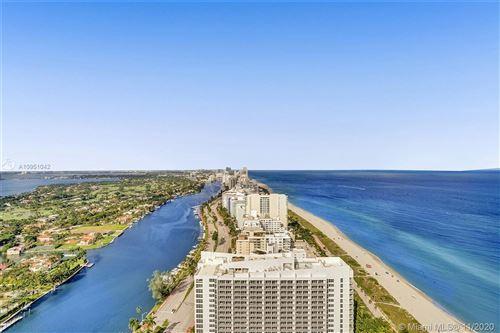 Photo of 4779 Collins Av #PH4207, Miami Beach, FL 33140 (MLS # A10951042)
