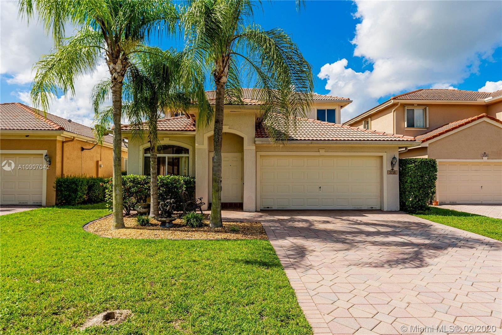 3718 Pebblebrook Mnr, Coconut Creek, FL 33073 - #: A10907042
